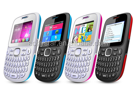low price china mobile phone dual sim qwerty keyboard cell phone
