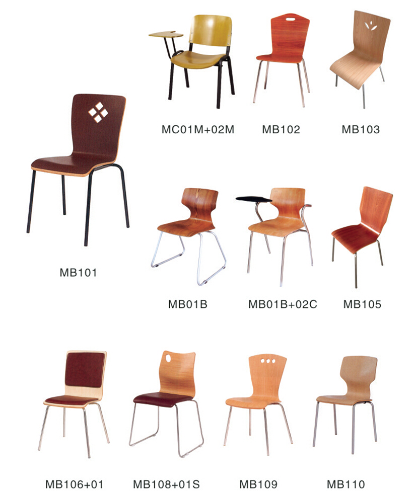 Customized Bent Wood Chairs