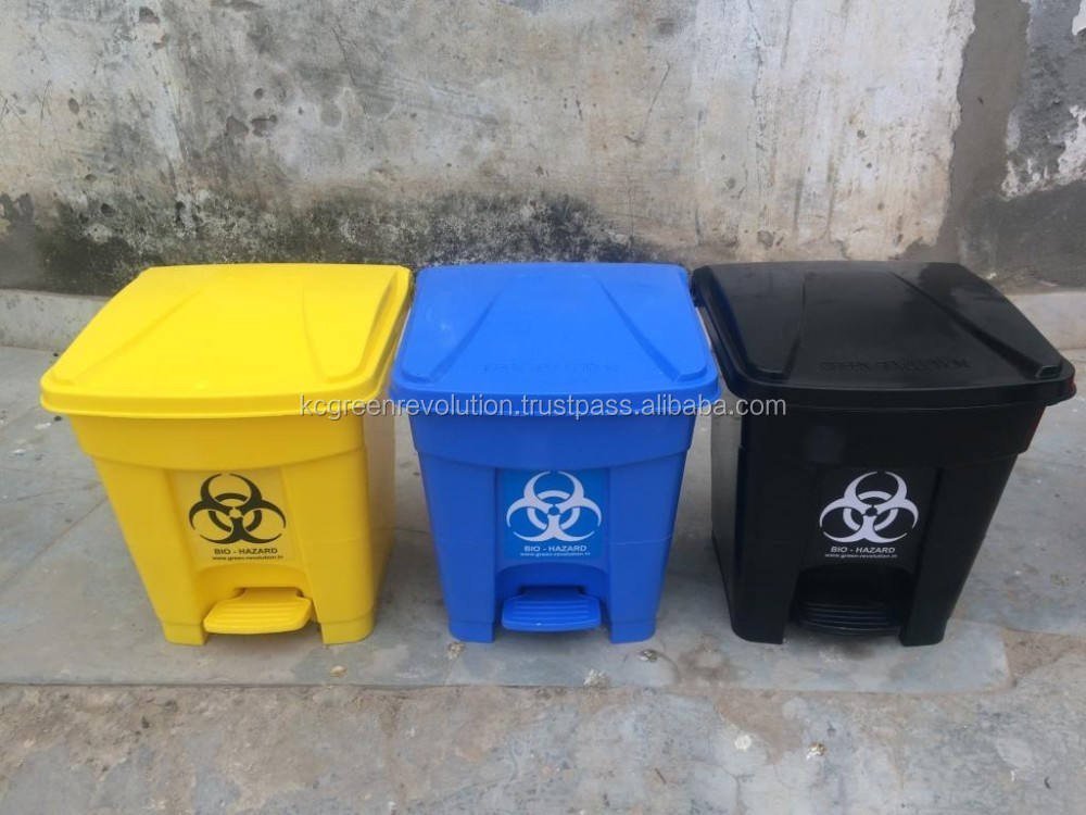 Medical Waste Container Foot Pedal