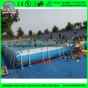Giant Playground Toys Intex Pools Plastic Swimming Pools Pool Frame Big Water Slides For Sale