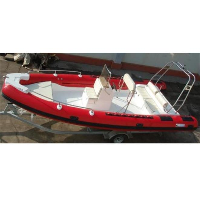 6.8 Meter CE RIB6 RIGID INFLATABLE/FISHING BOAT TNEDER/YACHT Dive Boat For Sale