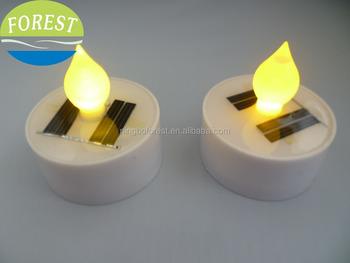 Solar Ed Tea Light Led Candle