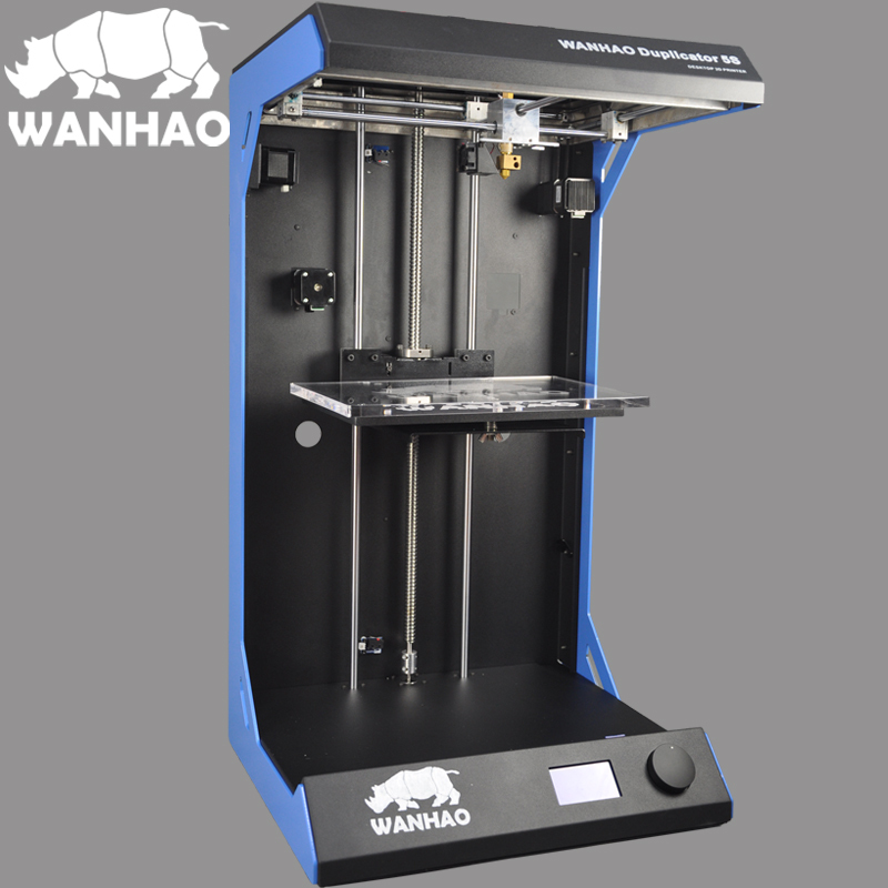 WANHAO Duplidator 5s Mini 3D printer big size factory special offer with 1 roll free PLA