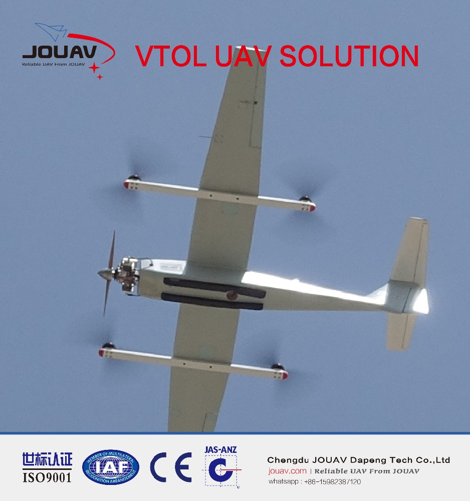 aerial land survey with long range uav vtol solution