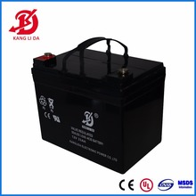 Factory direct sale 6fm 12v 33ah dry battery cycle price in Pakistan