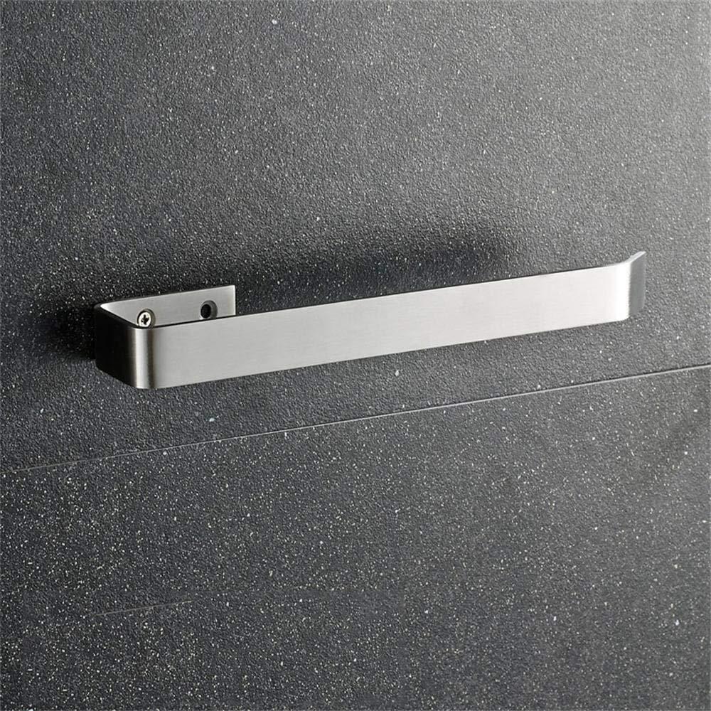 TOYM US- Solid Drawing Towel Ring 304 Stainless Steel Towel Hanging Bathroom Towel Ring