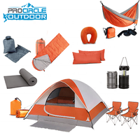 Outdoor Sports Camping Equipment Foldable Tent Wholesale Sleeping Bag Chairs Hiking