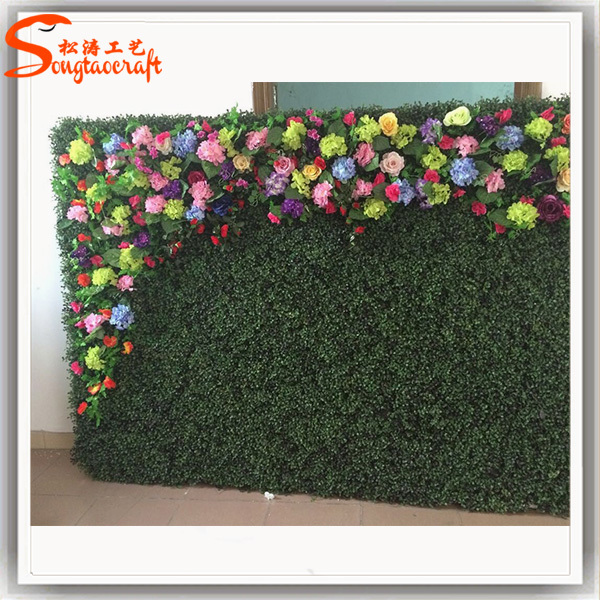 Home Decor Vertical Green Wall Artificial Moss Grass Wall For