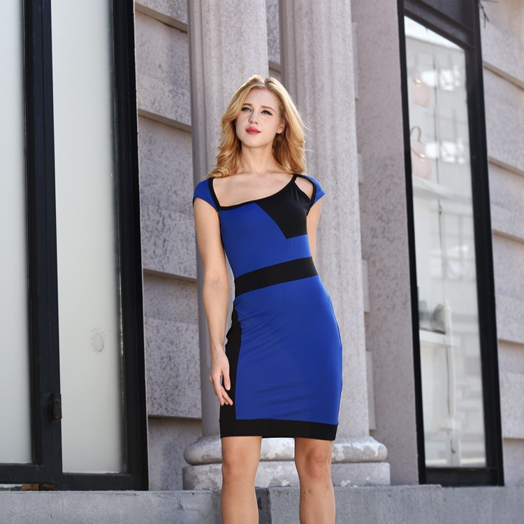 Hot Sale Newest Fashion Fat Lady Dress Woman Dresses Ladies Designer Formal Royal Blue Dress Buy Royal Blue Dress Newest Fashion Dress Ladies Designer Dresses Product On Alibaba Com