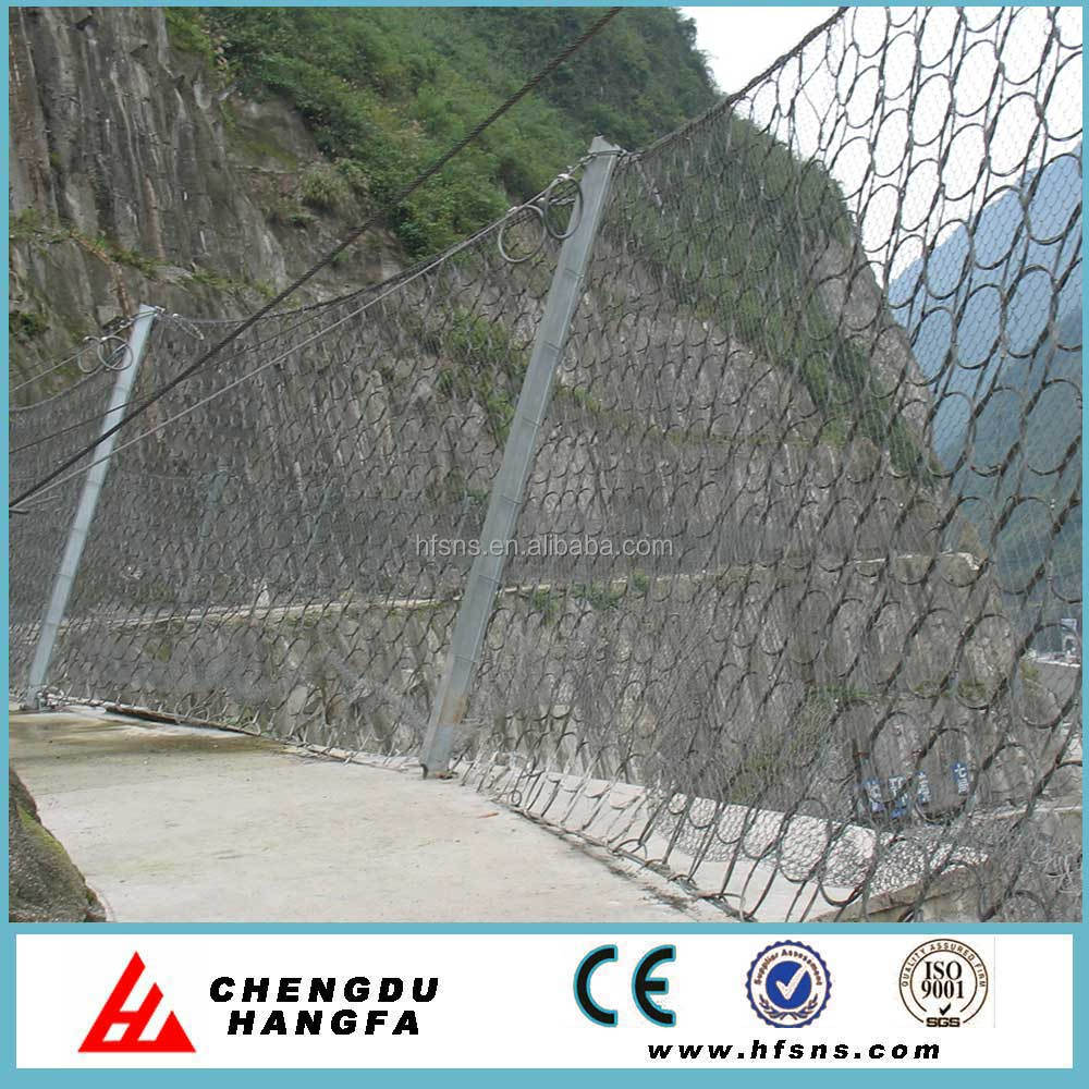 Buy rock fall protection galvanized wire mesh in China on Alibaba.com
