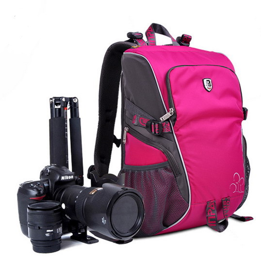The new 2015 Oxford high quality waterproof sports bag SLR camera bag Camera bag leisure shoulder photography backpack