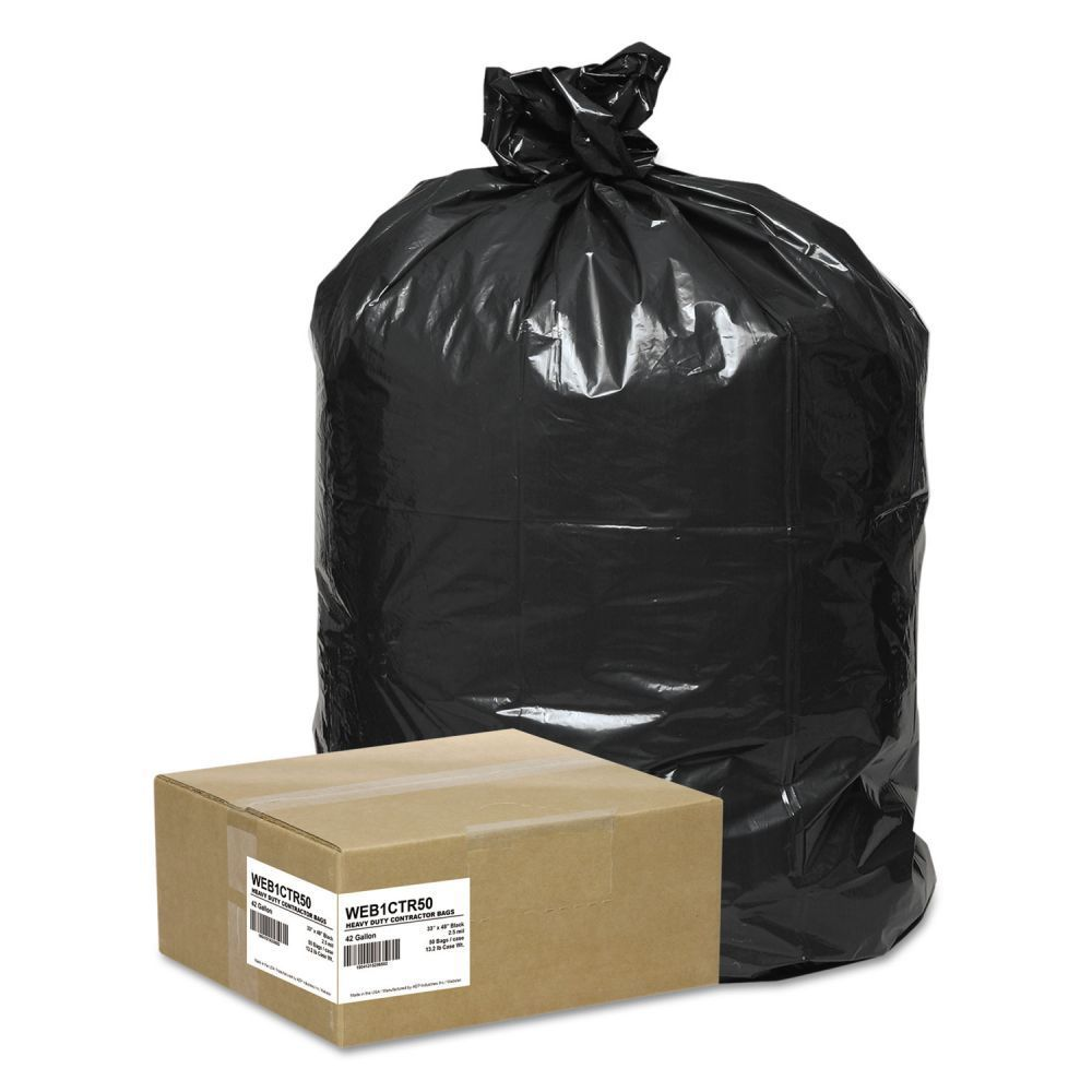 HDPE garbage bag recycled ldpe garbage plastic bags trash bags 55 gallon