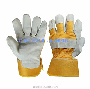 High Quality Wholesale Leather Welding Working Gloves