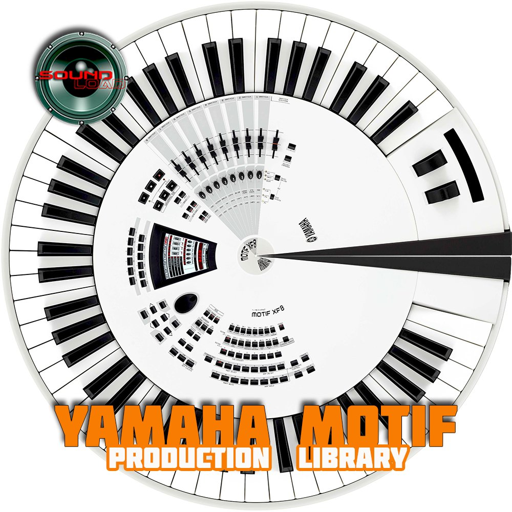 YAMAHA MOTIF - THE very Best of - 4.3GB HUGE Original Sound Library in 24bit WAVEs format on DVD or download