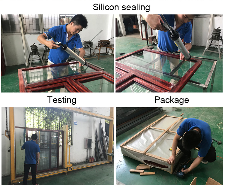 Manufacturer cheap waterproof aluminum sliding window price philippines