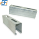 Customized Stainless Steel Factory Price Galvanized Unistrut C Channel
