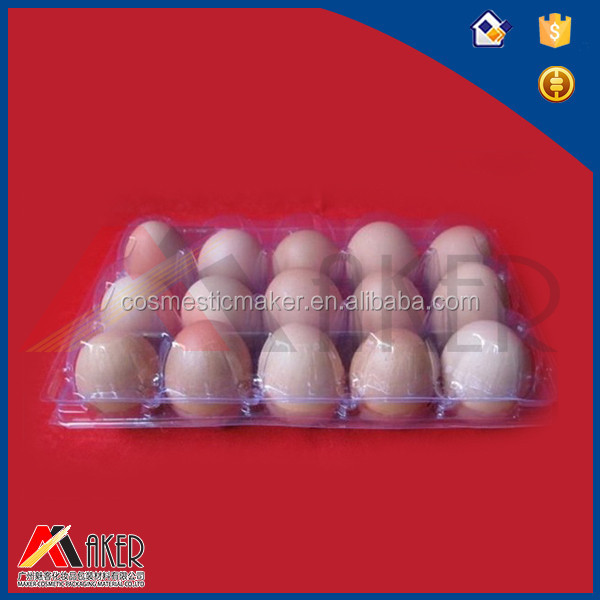 Wholesale customized order disposable plastic blister egg tray