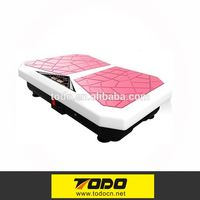 Touchscreen LCD Body Vibration Platform Fitness Vibration Plate Machine Workout Trainer Hips Muscle Weight Loss