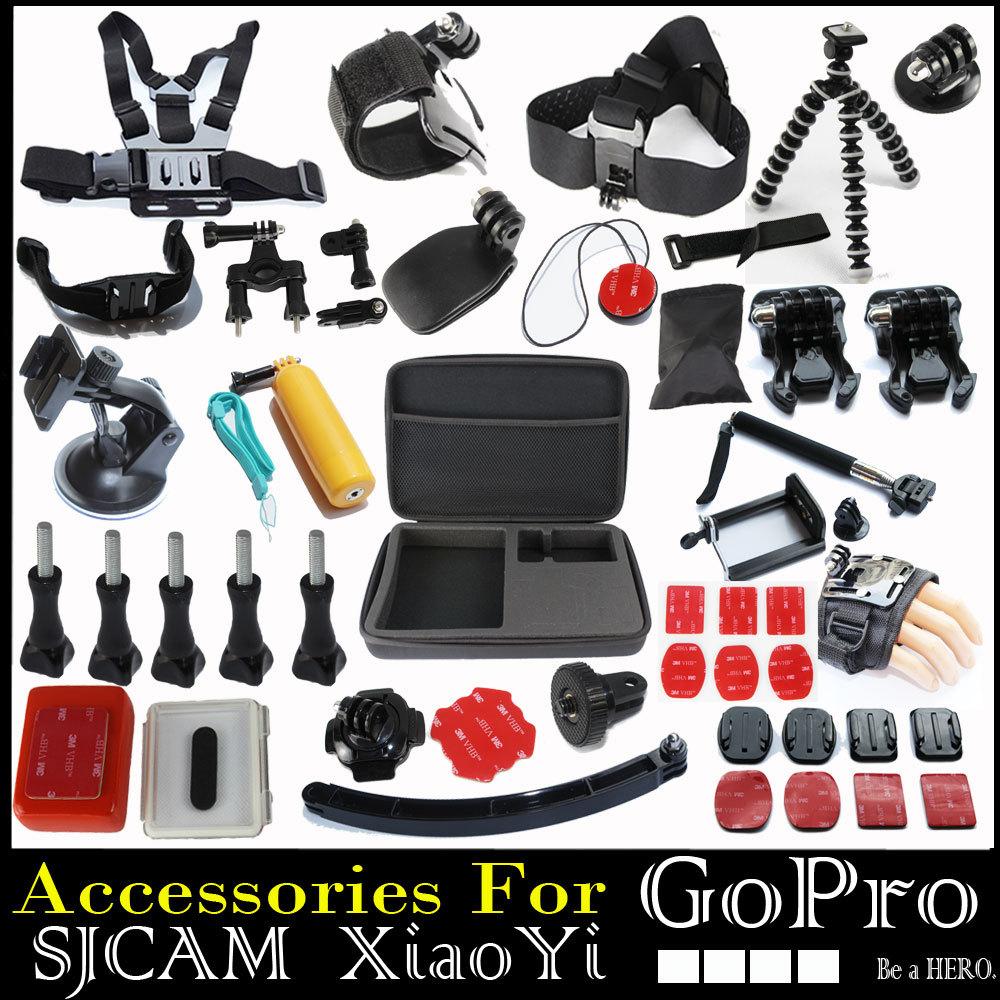 Gopro Go Pro Hero 3 2 Hero3 Tripod Monopod Mount Helmet Selfie Floating Sj4000
