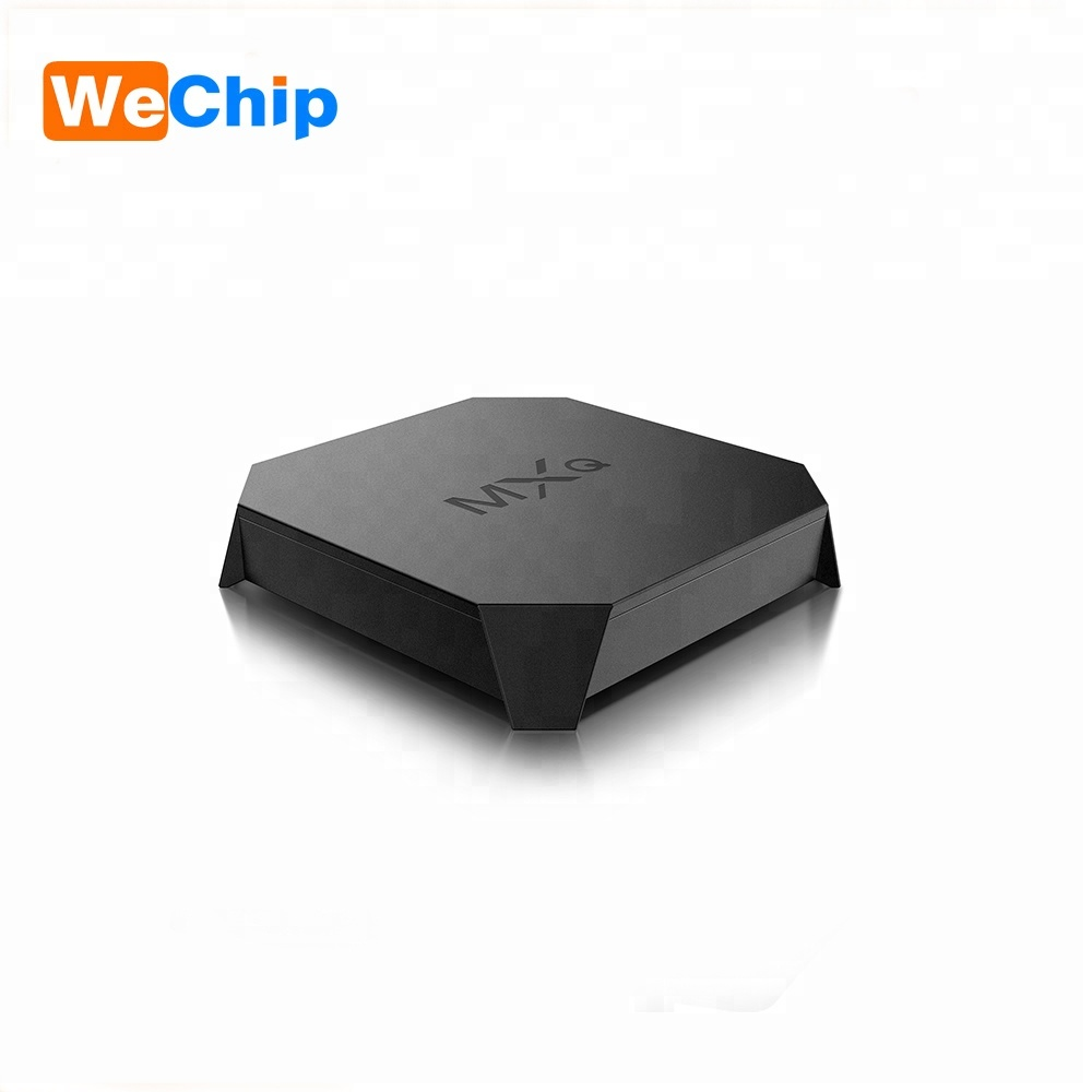 Wechip Newest MXQ U2W S905W 4K 1GB DDR3 8GB EMMC Android 7.1 TV BOX 2.4g WIFI Set Top Box Multi-Channels HD <strong>player</strong> Have in Stock
