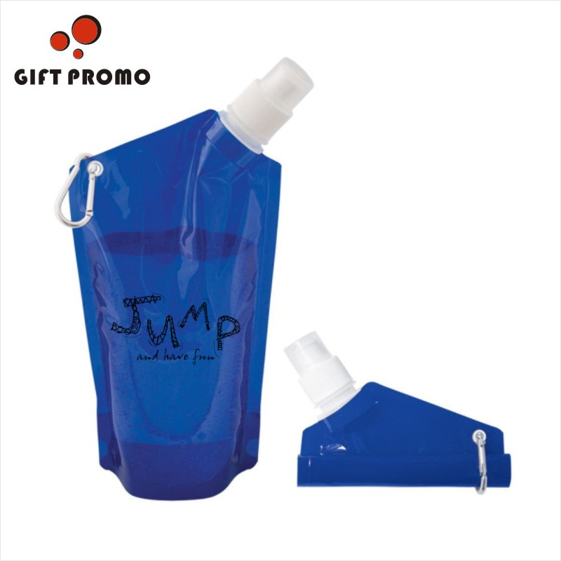 Plastic Folding Water Bottle Flat Water Bottle