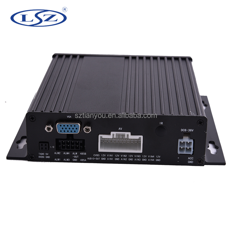 factory mobile dvr motherboard mdvr h 264 4 channel ahd sd mobile cctv dvr with ce fcc certificate