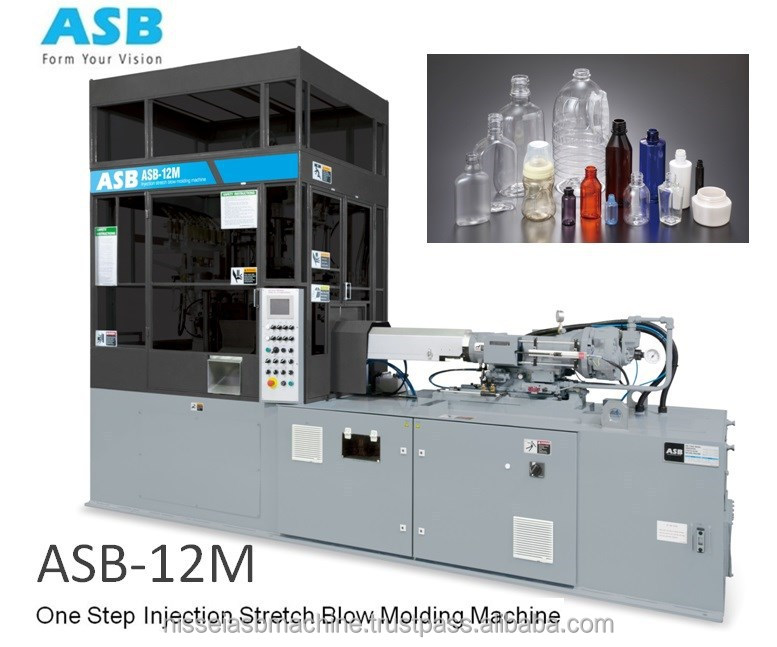 One Step Injection Stretch Blow Molding Machine ASB - 12M