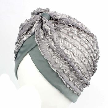 Tall lace Indian hat Muslim Head Jacquard Stretch Cotton India Hat Noble  Retro Turban Hat 43c35917b2e