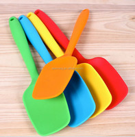 10 pcs/lot 100% silicone spoon,silicone spatula,silicone scraper/baking tools /siliocne knife /cooking tools +FDA cheap shipping