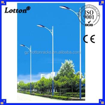 Lotton Hot Dip Galvanized Solar Light Pole Street Lighting Pole ...