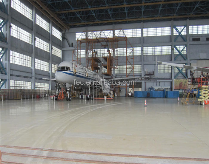 Prefabricated Aircraft Hangar Space Frame Systems
