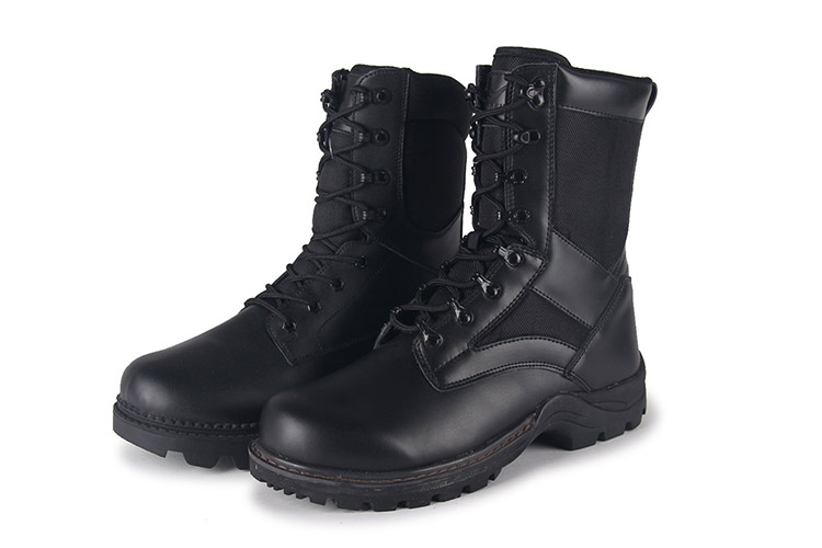 manufacturer supplier outdoor leather army boots made in