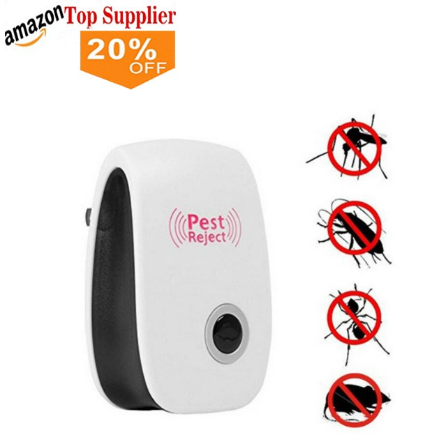 Garden Portable Electronic Mosquito Repeller Type Pest Repeller Solar Ultrasonic Mosquito Insect Killer Selling Well All Over The World Home & Garden Pest Control