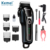 Kemei KM-1991 Hair Trimmer Electric Rechargeable Ret Hair Clipper Pet Grooming Clippers