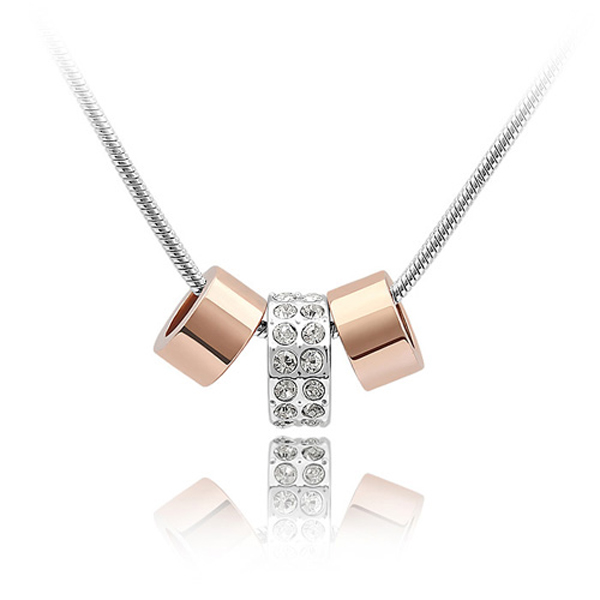 Free shipping hot gift fashion design necklace Crystal From Swarovski