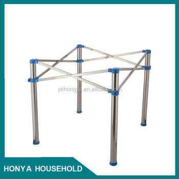 Adjustable Stainless Steel Folding Table Parts Buy Folding Table - Stainless steel table parts