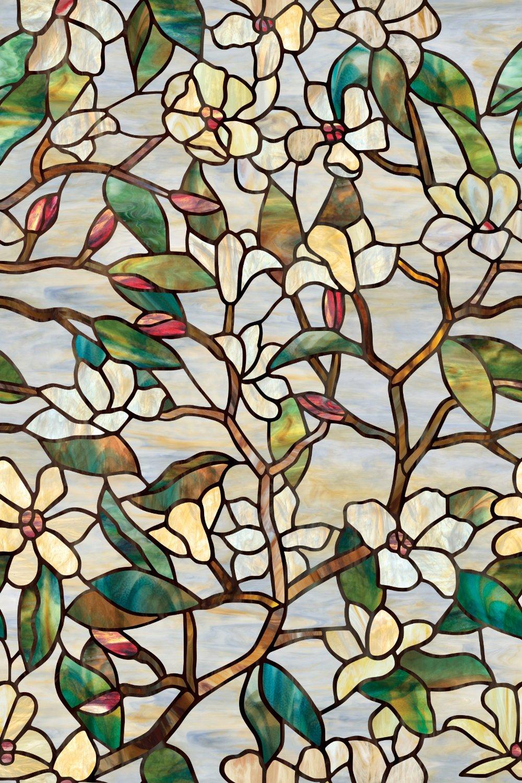 Get Quotations Artscape Summer Magnolia Window Film 24
