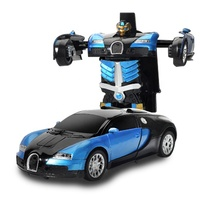 Hot sale RC transformation toys Gesture sensing remote control toy transformer robot toy car for kids