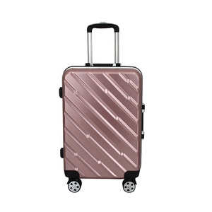 2018 hot sale abs travel carry on used luggage for sale