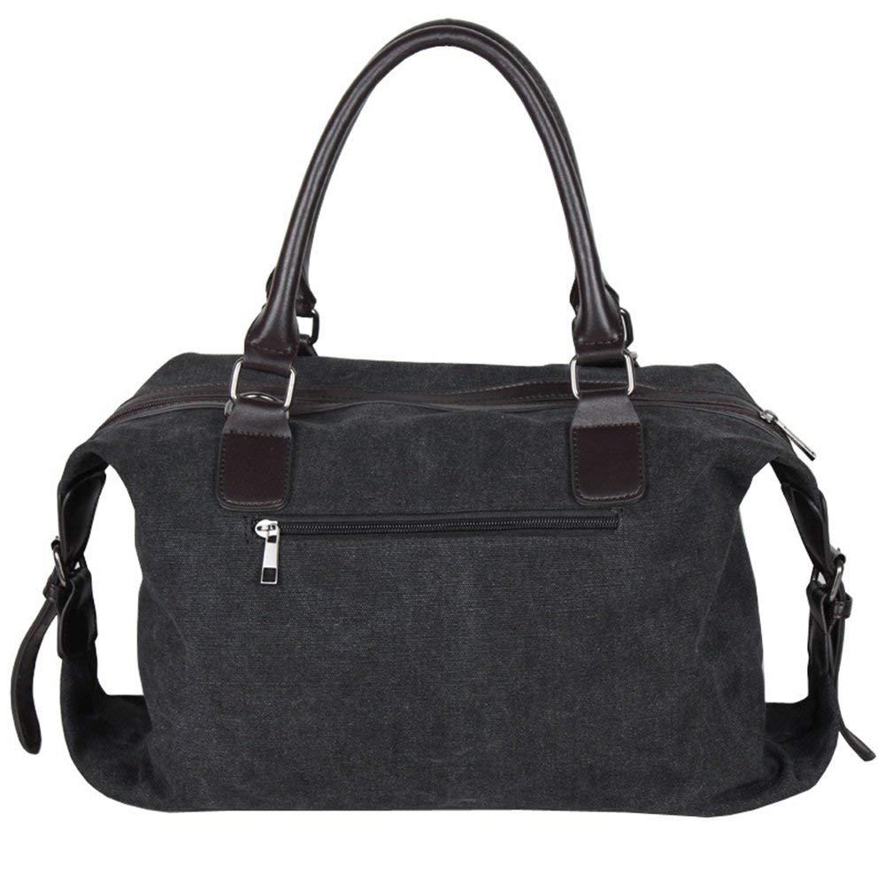 Crystalzhong Canvas Traveling Bag, Shoulder Shoulder, Spanning Men's Lady, Canvas, Leisure Bag, Sports Bicycle, Cylinder, Schoolbag.