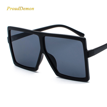 M1806 Women Men Newest Gradient LensGlasses Oversize Big Fame Fashion Sunglasses 2020