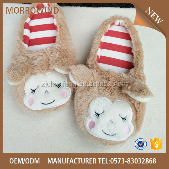 Wholesale soft sole indoor Womens Cute cheap comfortable home slipper