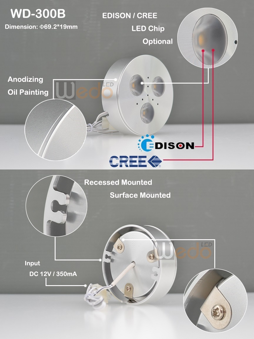 Aluminum Pcb Board Dimmable Touch Switch Led Furniture Lighting ...