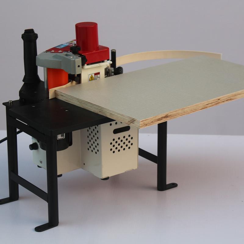 Karmei draagbare rand lijm hout lijm mdf lamineren machine