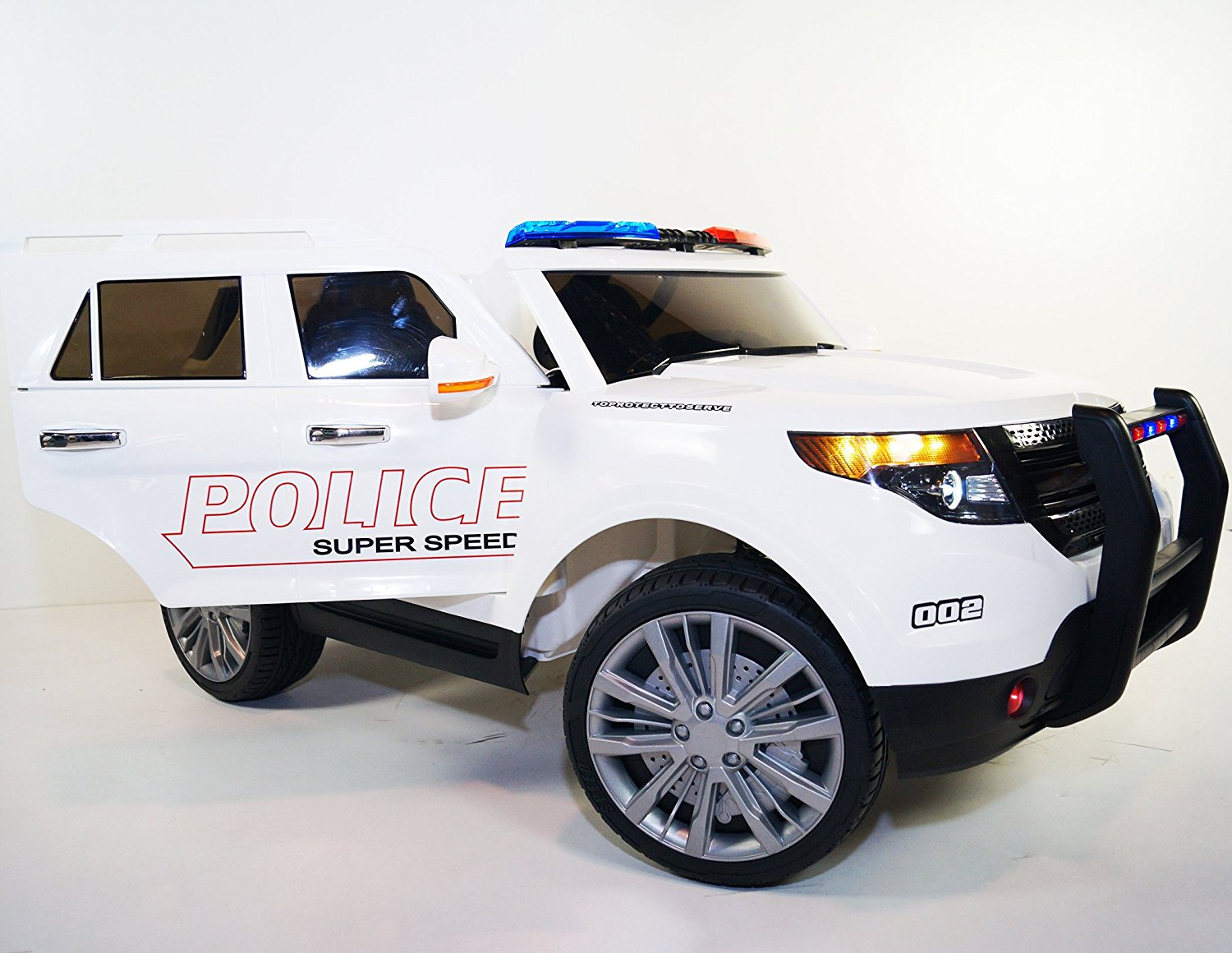 d93d9f6eb9c9 Ride on POLICE style car. Two Electric motor. Battery operated. Police car  jeep