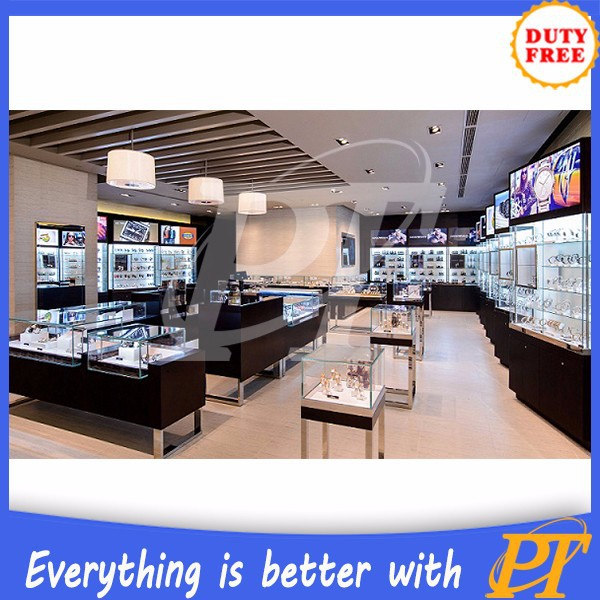 Best Priced Furniture Stores: Best Price Wooden Mall Watch Store Furniture From Chinese
