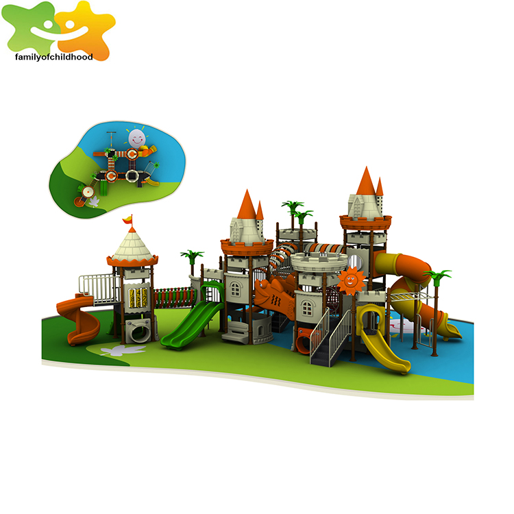 Professional Kids Plastic Slide Playground Outdoor Equipment For ...
