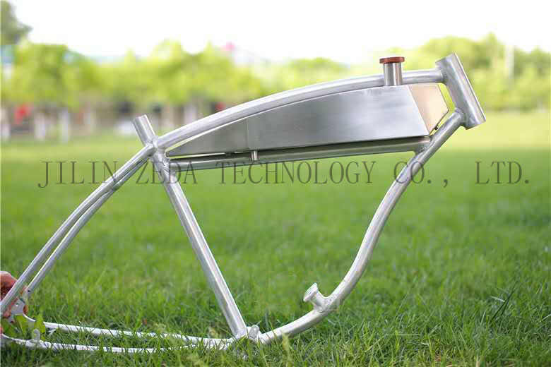 aluminum bicycle framebike frame with built in gas tankmotorized bike frame with