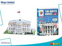 6395344 3D PUZZLE THE WHITE HOUSE 64PCS