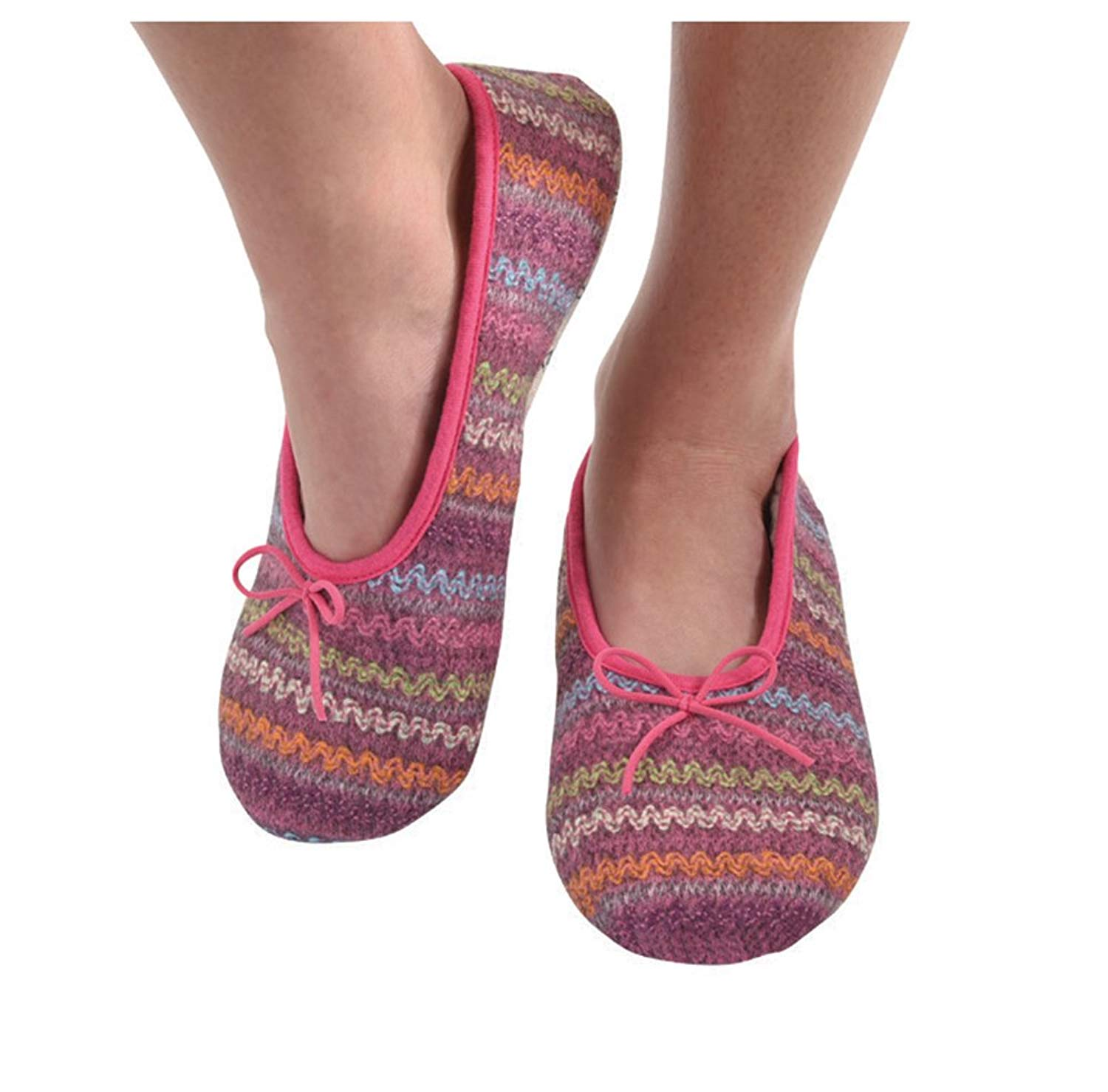 006da4dbc629 Buy Skinnies by Snoozies cozy foot covers with non-skid soles ...
